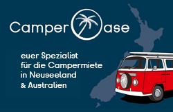 Camper Oase - Spezialist für Campermiete in Neuseeland und Australien