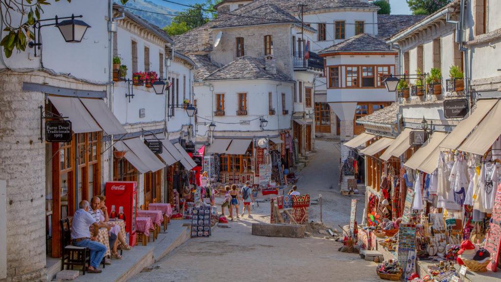 Albanien Reisetipps - Altstadt Gjirokastra