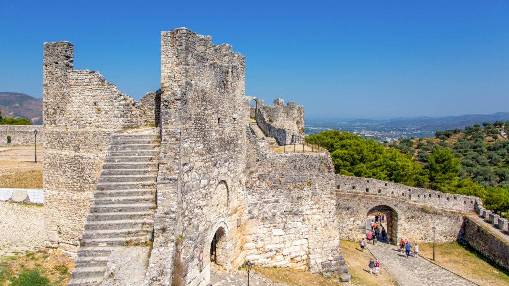 Die Festung von Berat auf dem Burgberg