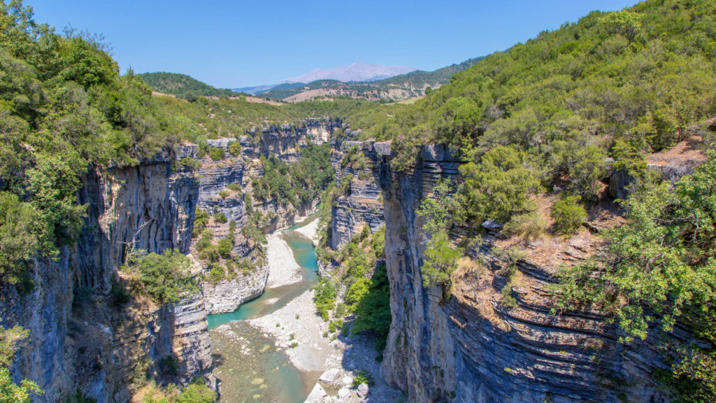 Osum Schlucht/Canyon - Umgebung von Berat