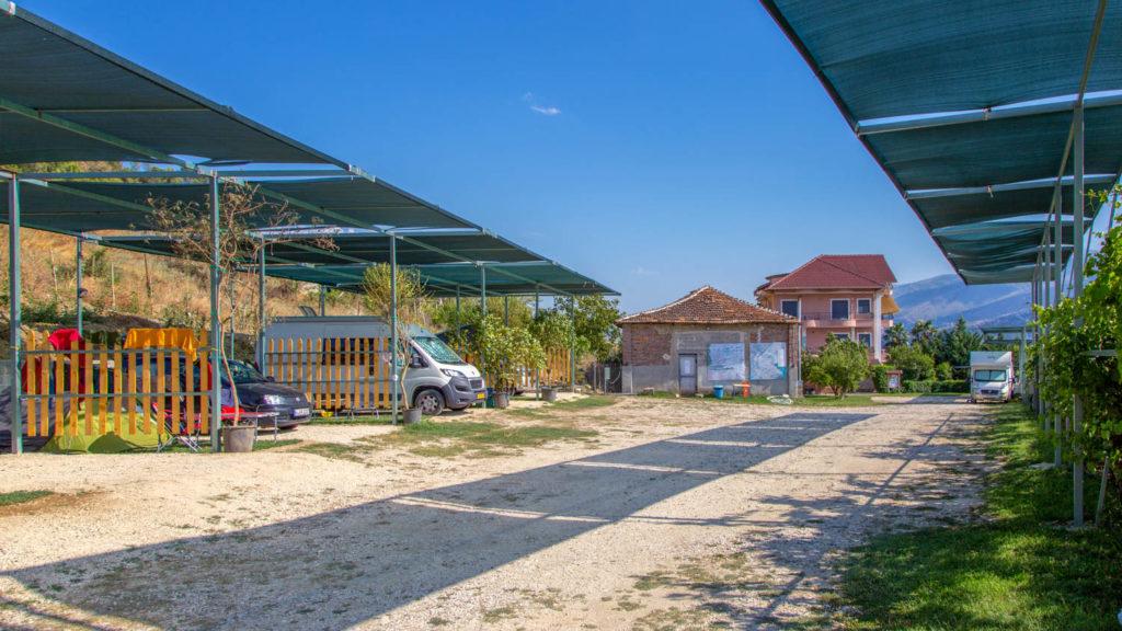 Campingplätze in Albanien, Gjirokaster