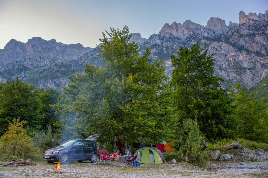 Campingplätze in Albanien