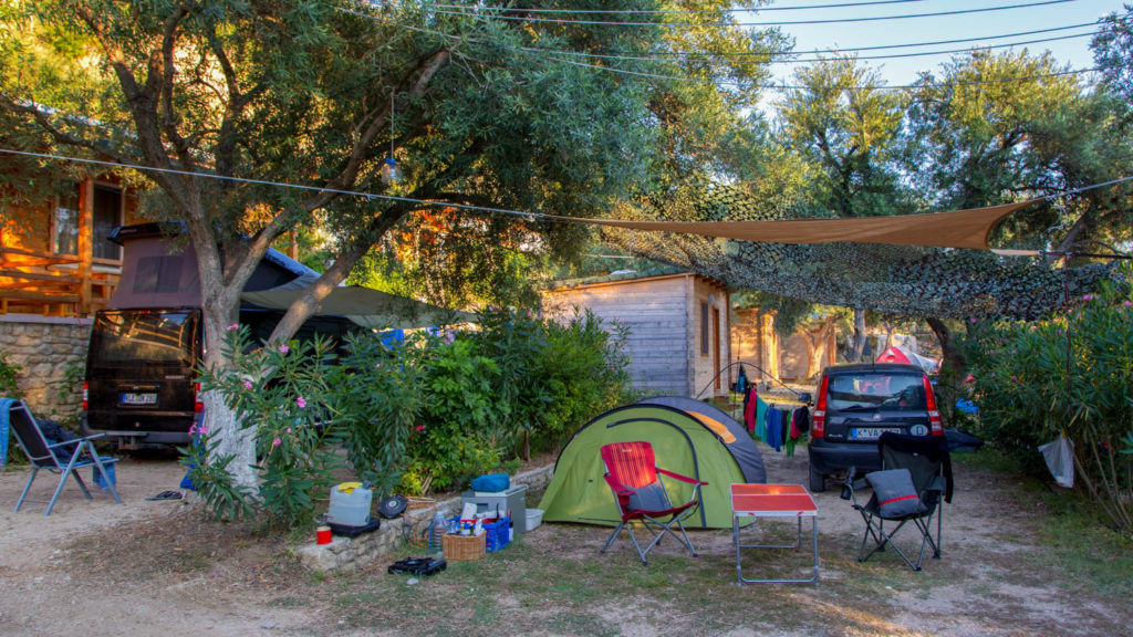 Campingplätze in Albanien - Nashos Camping