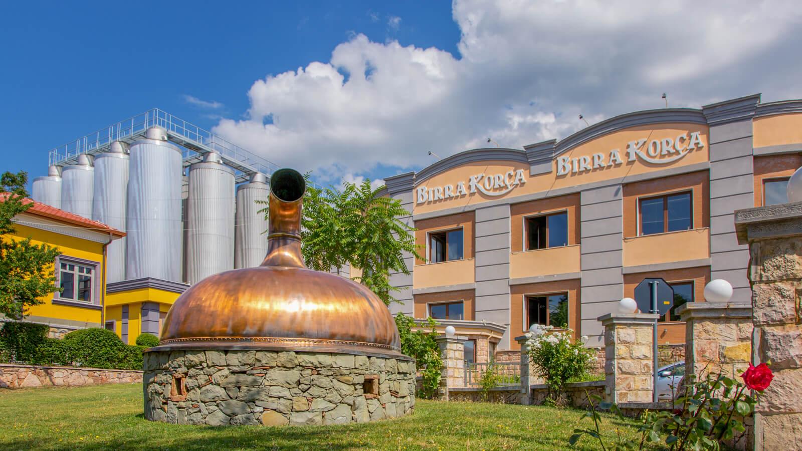 Birra Korca Brauerei in Korca Albanien