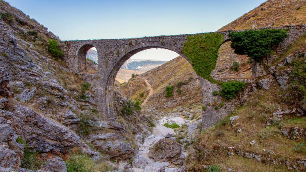 Ali Pasha Bridge - Ali Pascha Brücke - Gjirokastra, Albanien