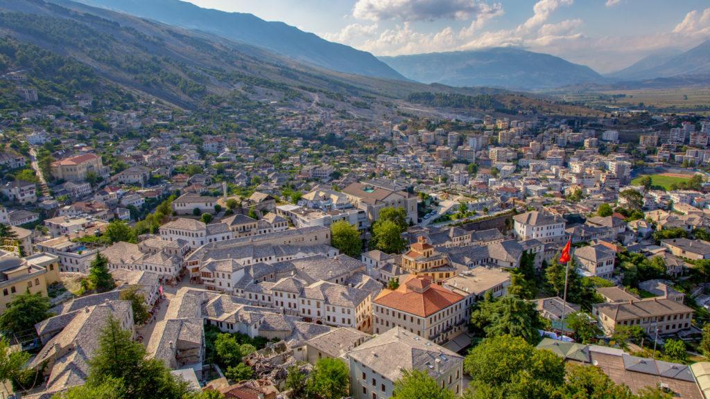 Gjirokastra - Stadt der Steine
