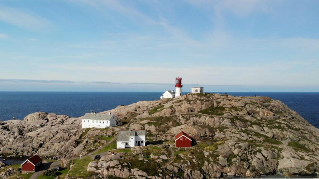 Lindesnes fyr Leuchtturm in Norwegen