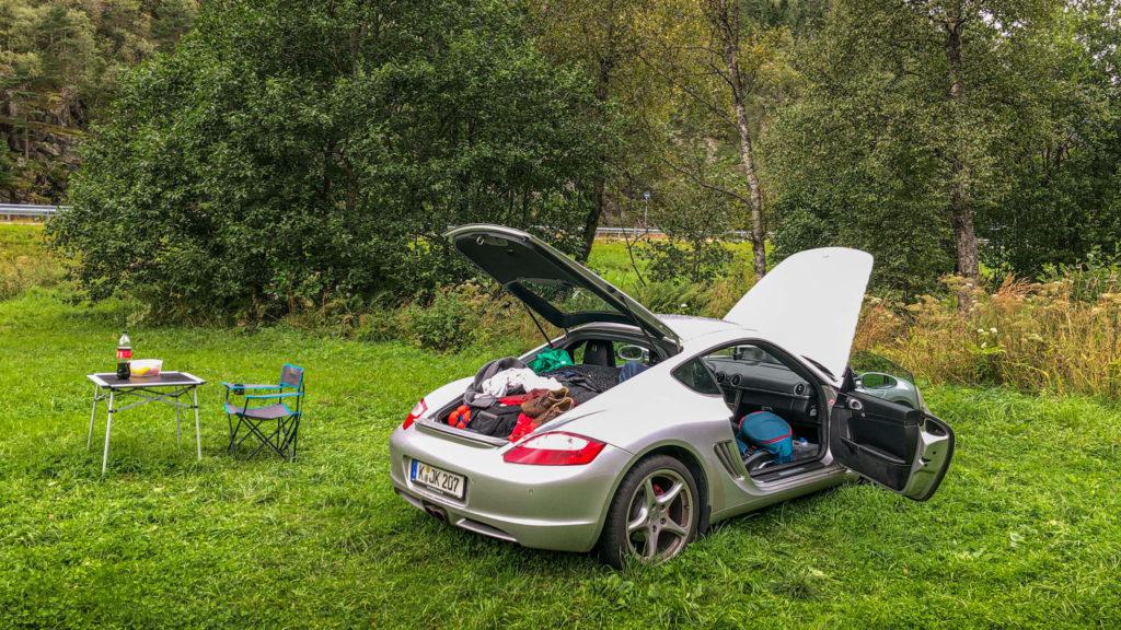 Raumwunder Porsche Cayman - Norwegen Reisetipps