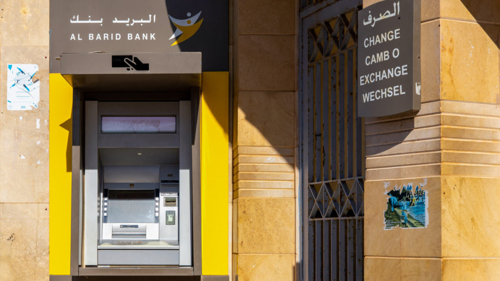 Al Barid Bank Geldautomat in Marokko