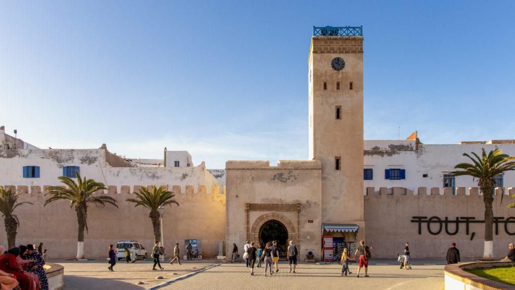 Uhrturm Essaouira Reisetipps - Marokko