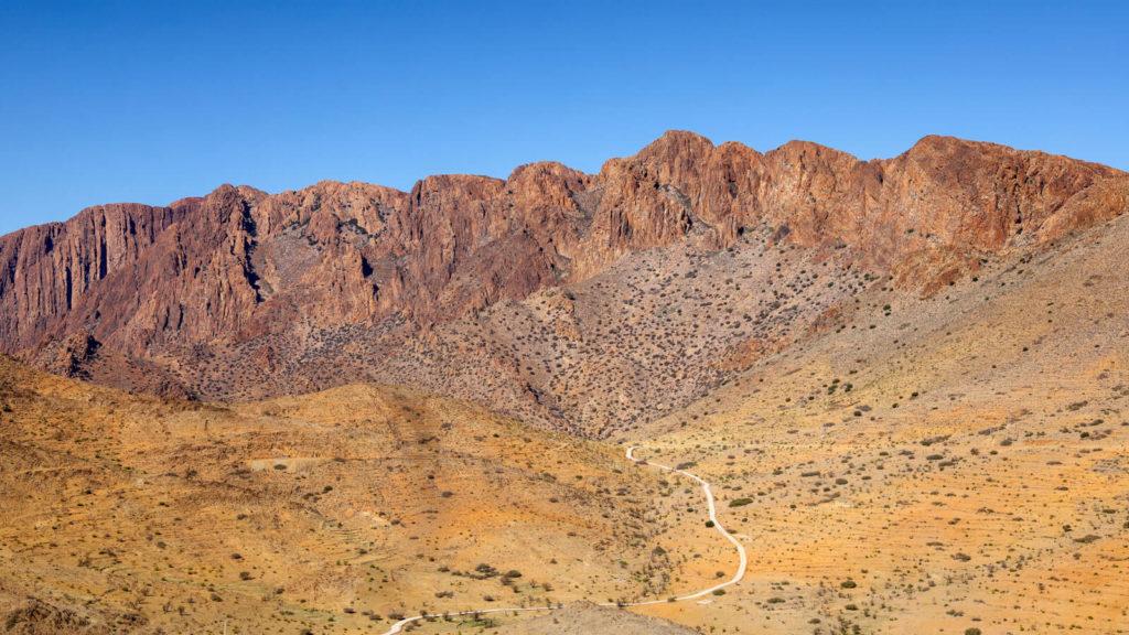 Gebirgskette in Marokko - Marokko Reisetipps