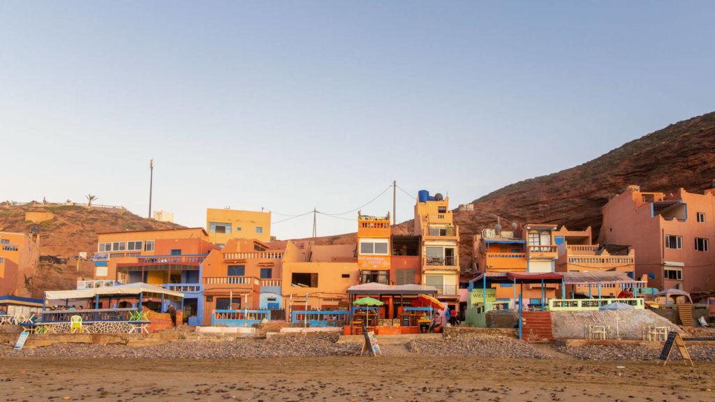 Unterkünfte am Legzira Beach