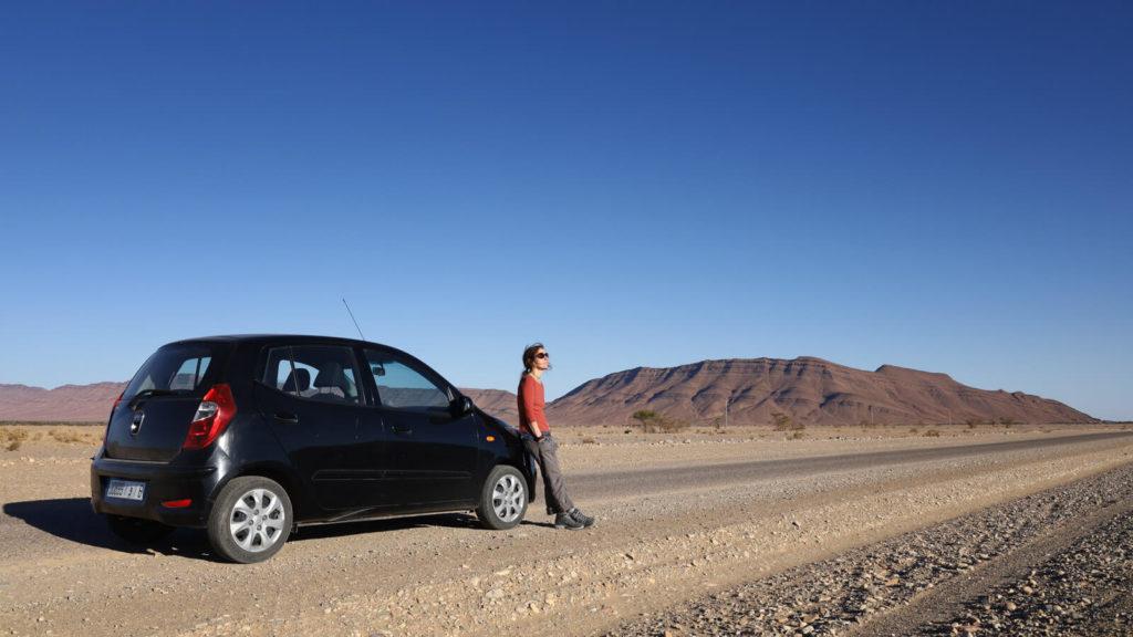 Reisekosten Marokko - Mietwagen günstig mieten