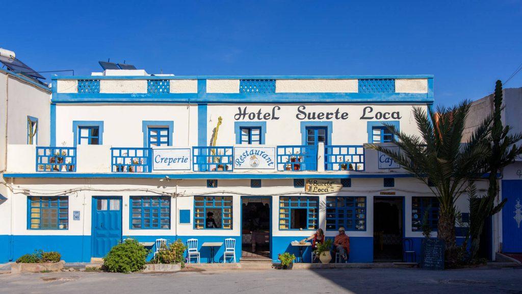Hotel Suerte Loca Sidi Ifni in Marokko