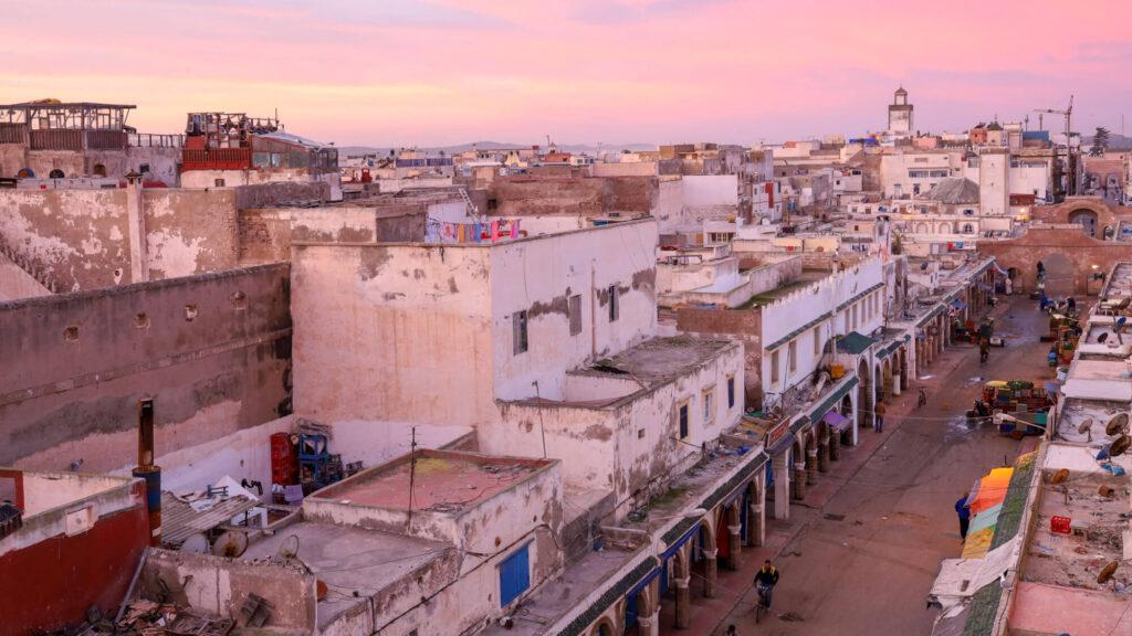Essaouira Morgenstimmung über den Dächern