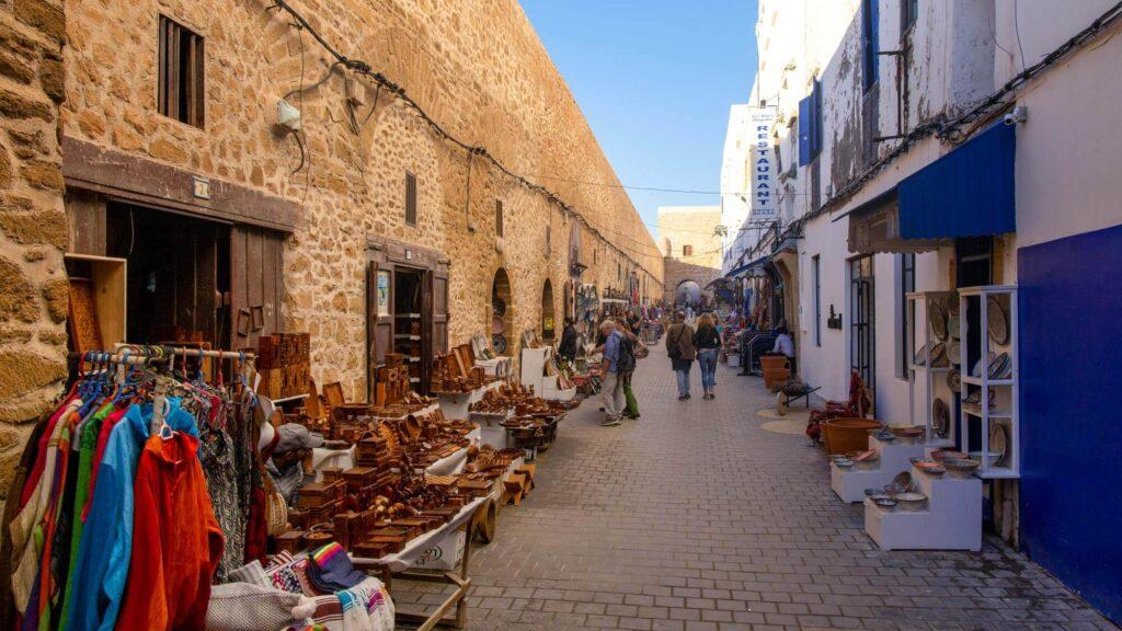 Kunsthandwerk in der Medina von Essaouira