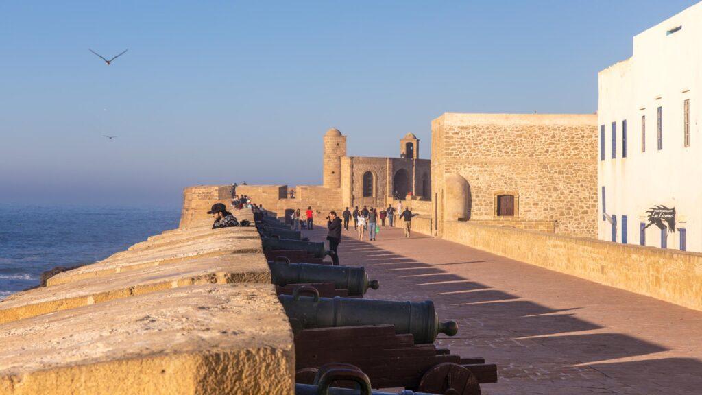 Die Scala de la Kasbah in Essaouira - Marokko