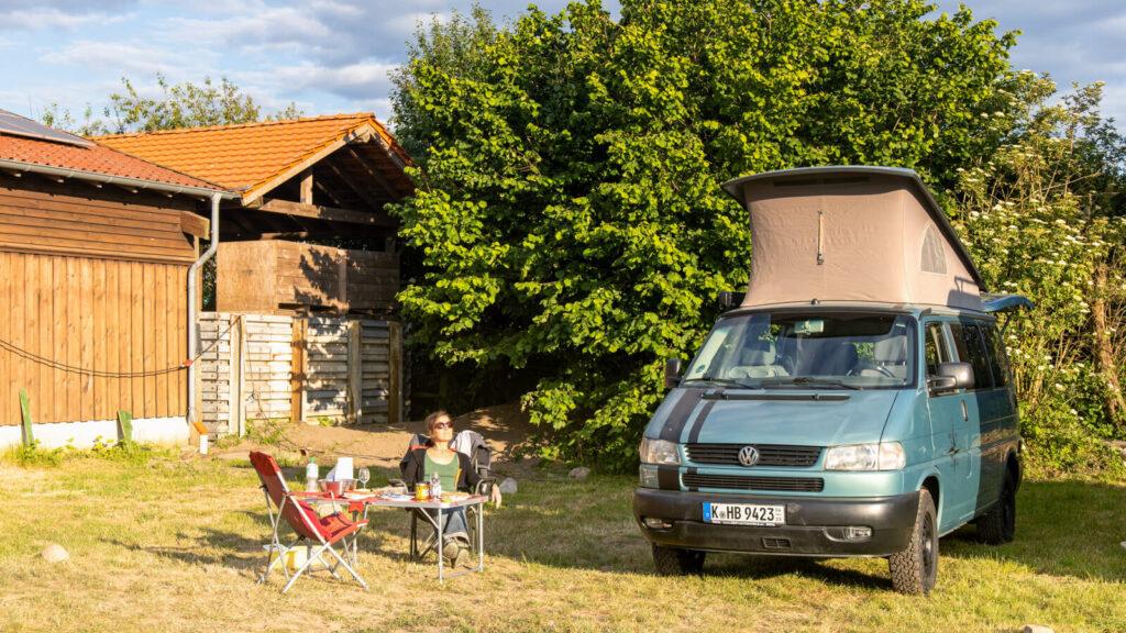 Landvergnügen - Wohnmobilstellplatz auf dem Bauernhof