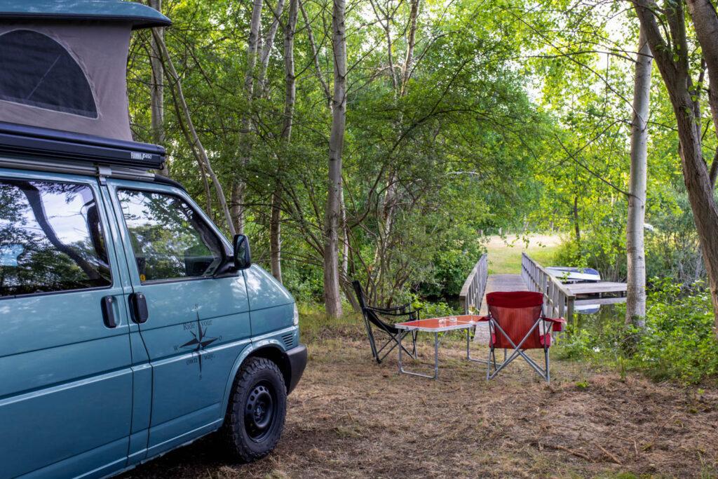 Erfahrungen mit Landvergnügen - Camping direkt am See