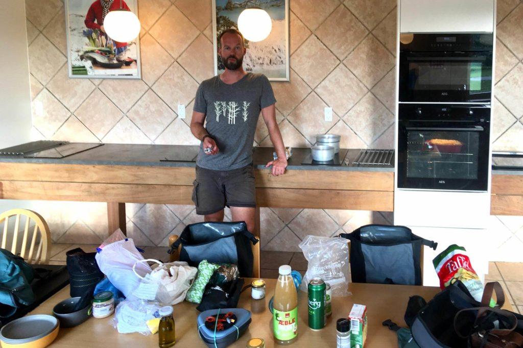 Camping Küche in Dänemark - Radtour durch Dänemark