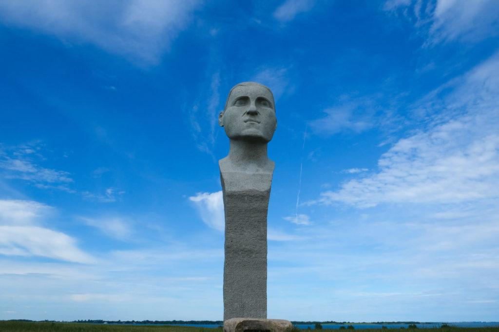 Dodekalitten Skulptur - Radtour durch Dänemark