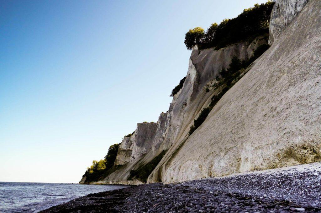 Møns Klint Felsen - Radtour durch Dänemark