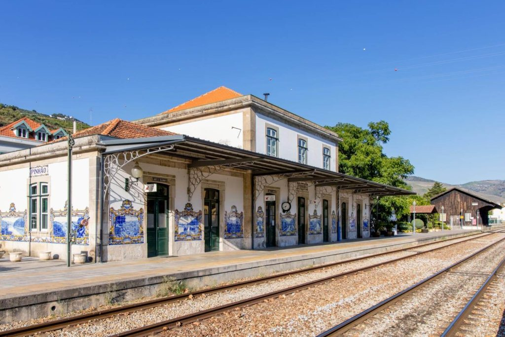 Der Bahnhof in Pinhão