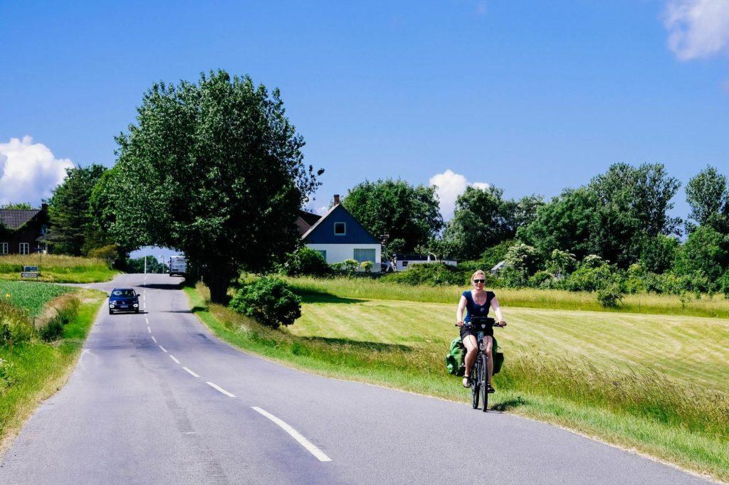 Radfahren auf Dänemarks Staßen - Radtour durch Dänemark