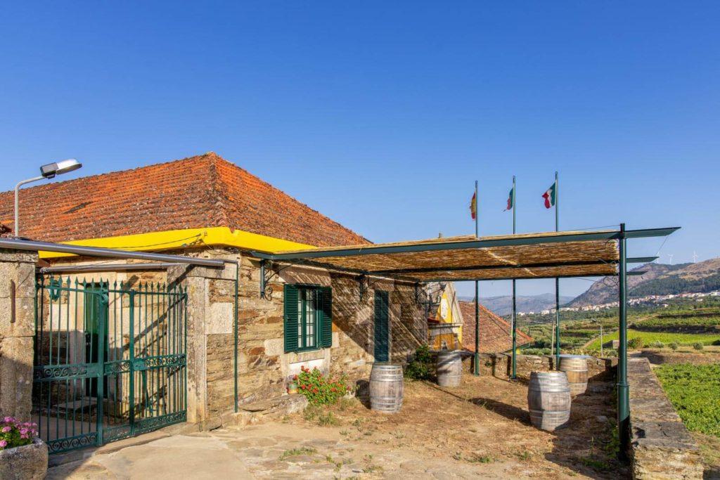 Das Weingut Quinta do Monte Travesso im Douro-Tal