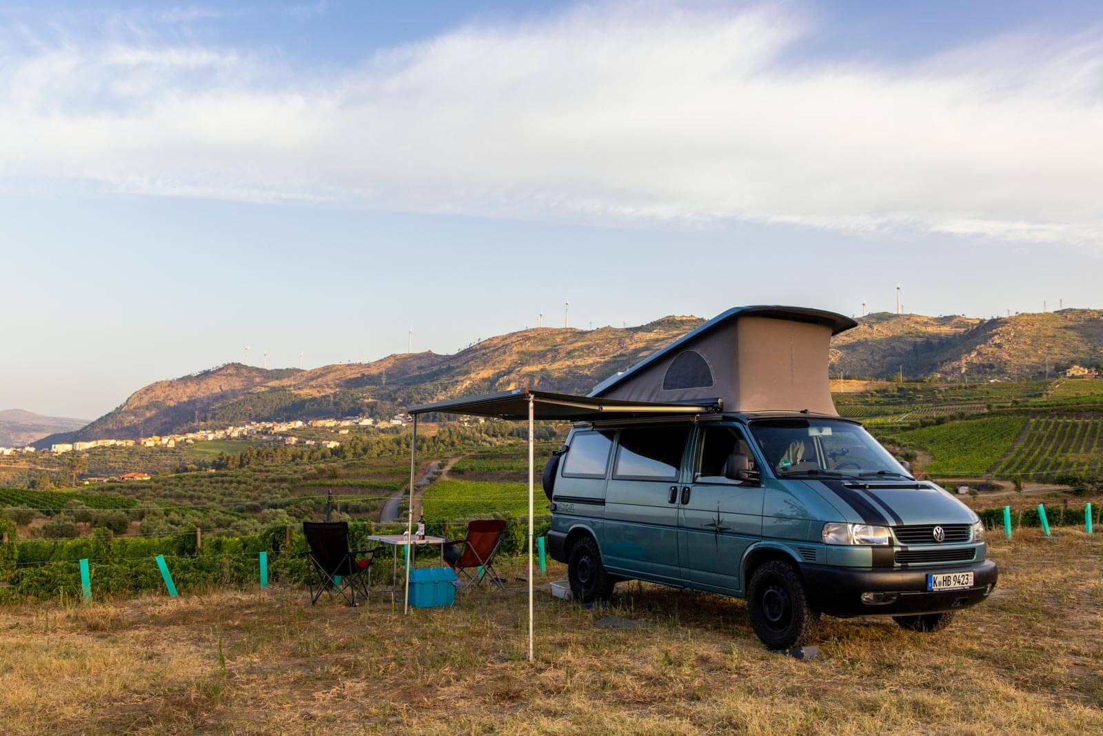 Mit dem Wohnmobil ins Douro-Tal