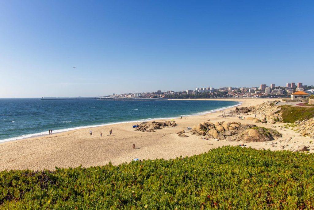 Strand von Vila Nova de Gaia - Roadtrip Nordportugal