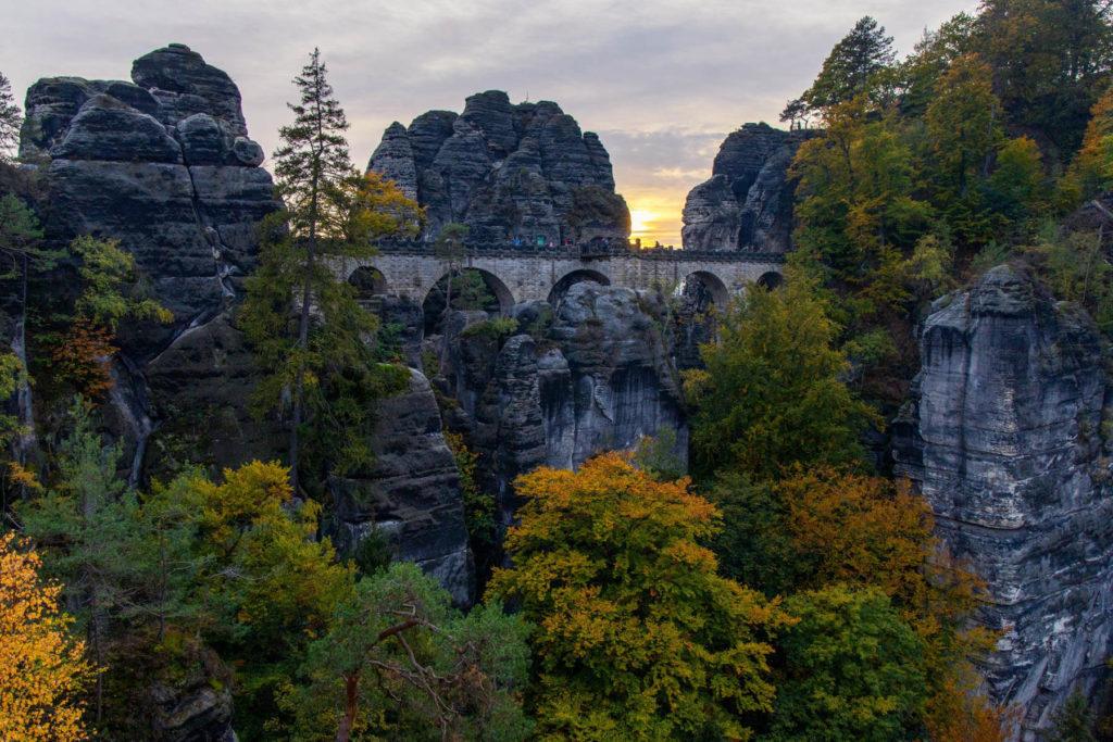 Basteibrücke - Mit dem Wohnmobil in die Sächsische Schweiz