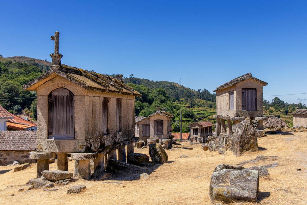 Maisspeicher in Lindoso Nordportugal