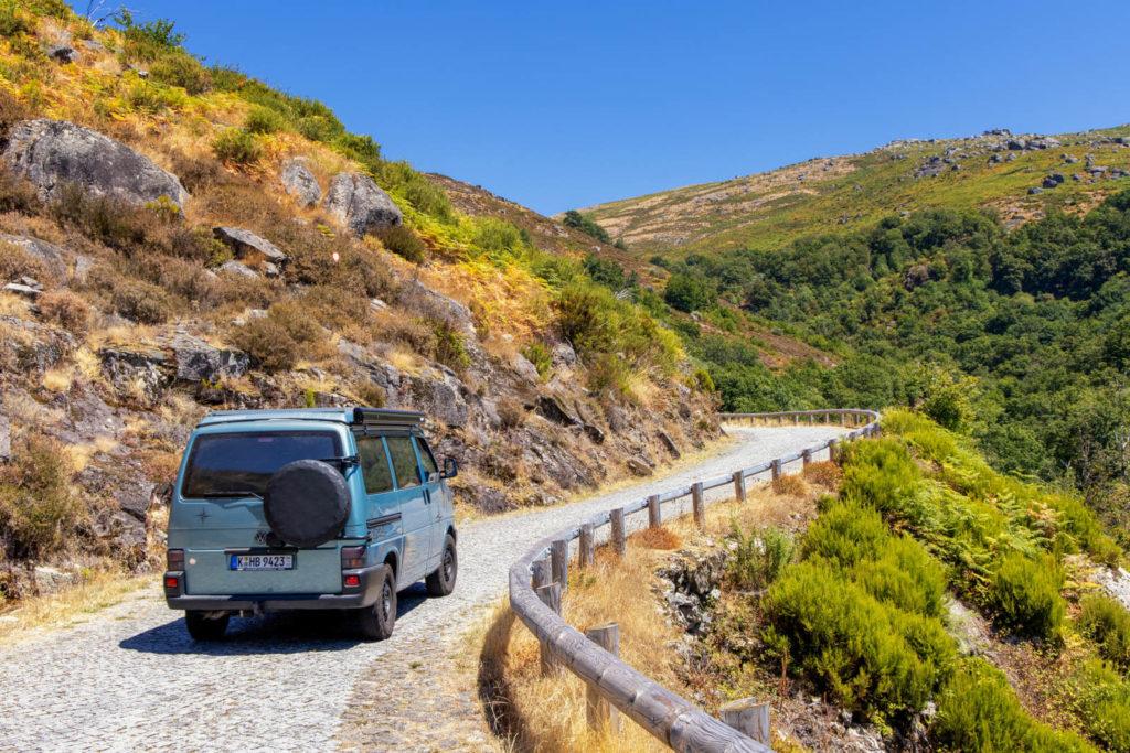 Mit dem Camper unterwegs im Nationalpark Peneda Gerês