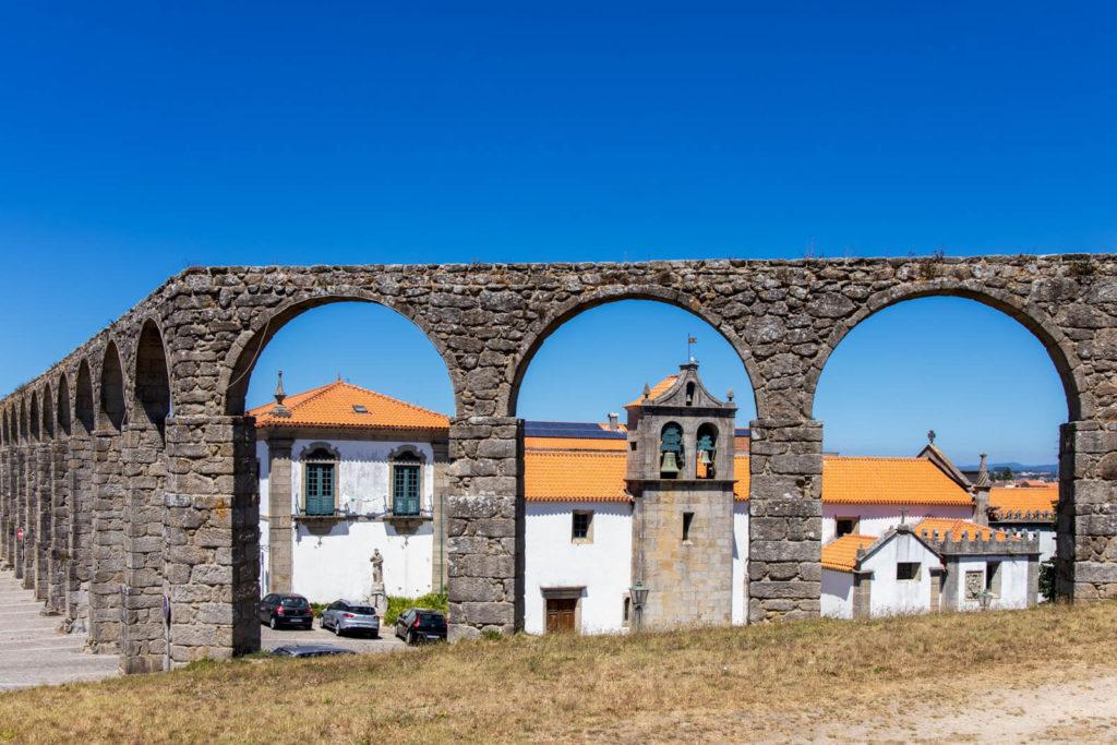 Aquädukt in Vila do Conde Nordportugal