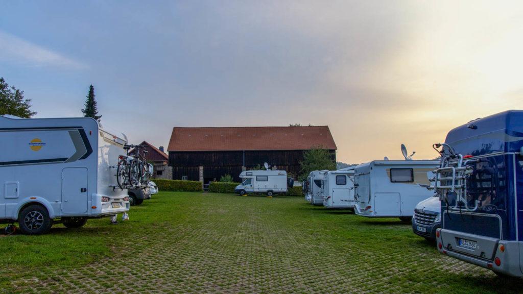 Caravanplatz zum Liliensteinblick - Mit dem Wohnmobil in die Sächsische Schweiz