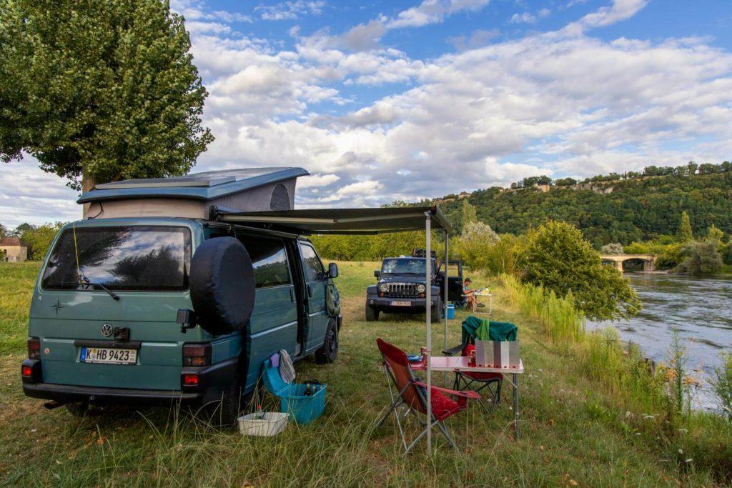 Dordogne-Tal Campingplatz Camping la Rive Verte