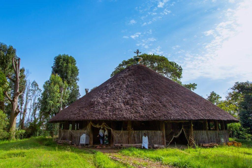 Die Kirche Debre Sina Maryam in Gorgora - Äthiopien Reisebericht in Bildern