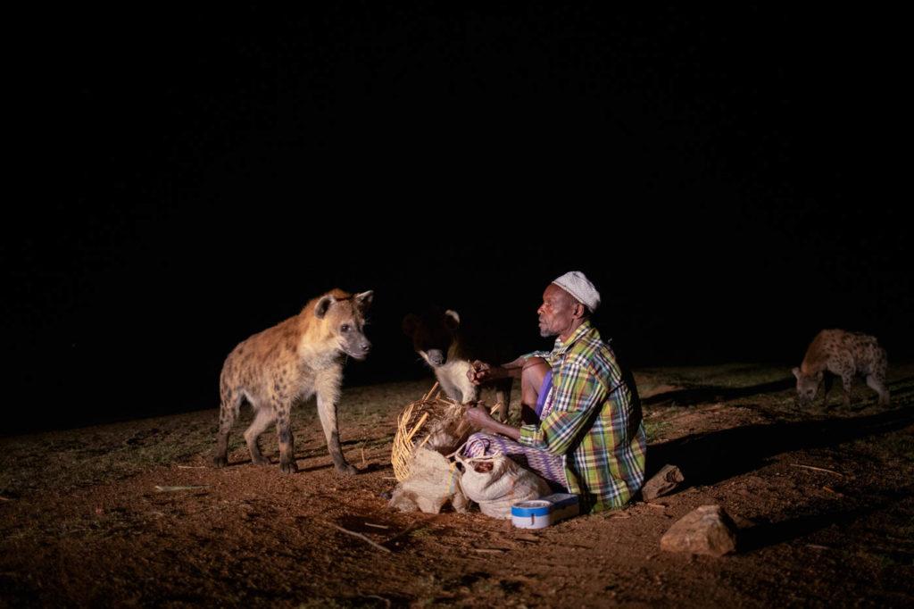 Hyänenfütterung in Harar - Äthiopien Reisebericht in Bildern