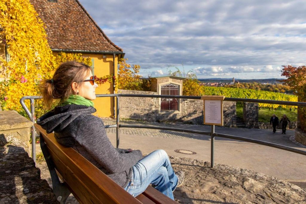 Maria im Weingarten bei Volkach an der Mainschleife - Camping beim Winzer