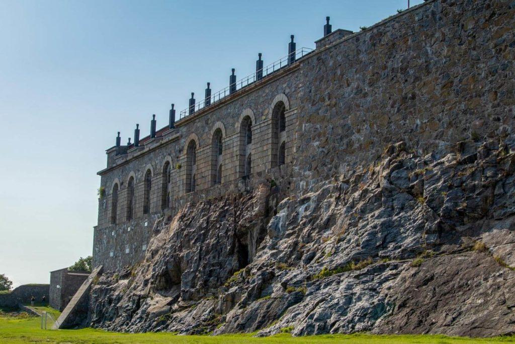 Altes Fort in Marstrand Schweden - Skandinavien Rundreise mit dem Auto