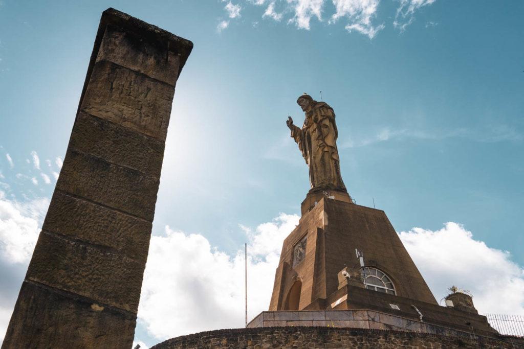 Christus-Statue Monte Urgull - San Sebastian