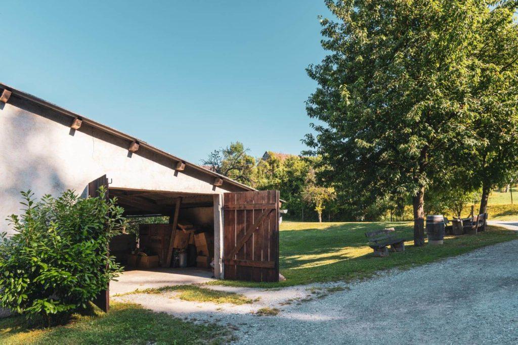 Camping beim Winzer im Straßertal - Winzerhof Stauffer - Bauernleben in Österreich