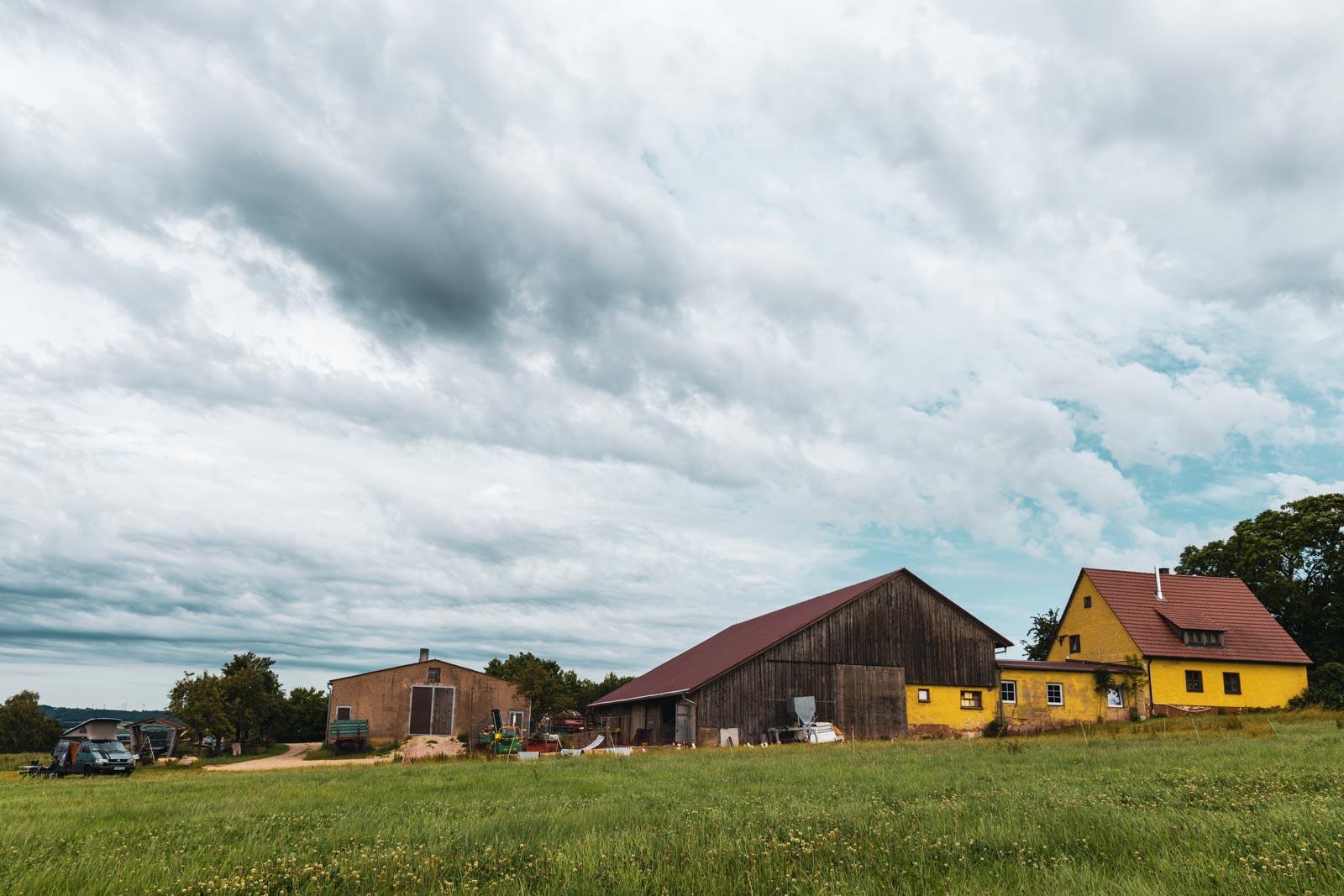 Landvergnügen in Bayern - Camping auf dem Bauernhof