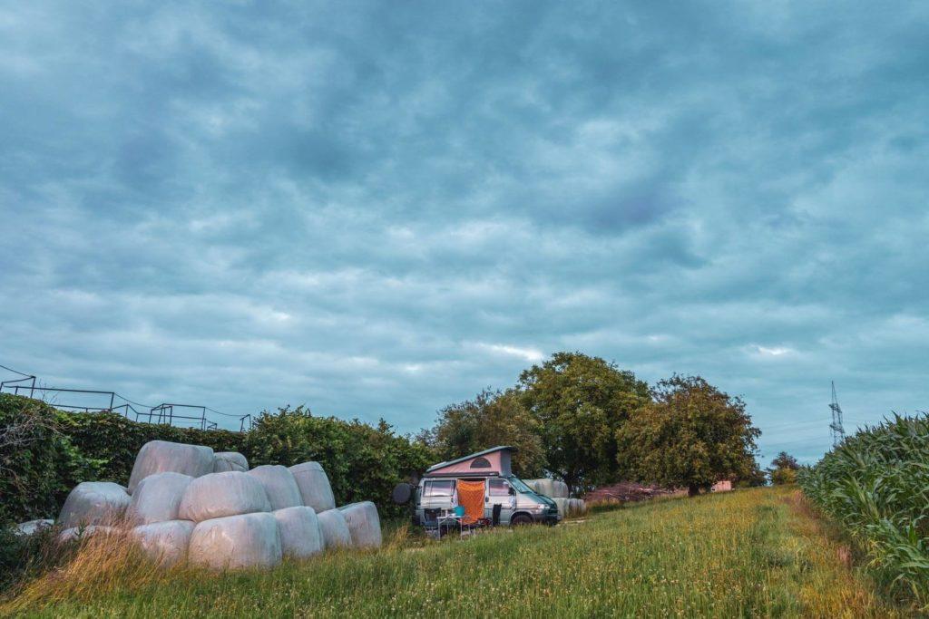 Landvergnügen Stellplatz auf dem Hof Winkler in Dorfen- Camping auf dem Bauernhof