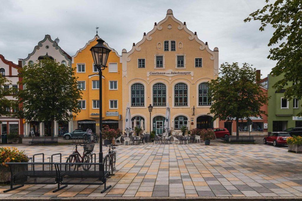 Marktplatz Dorfen - Bayern Roadtrip