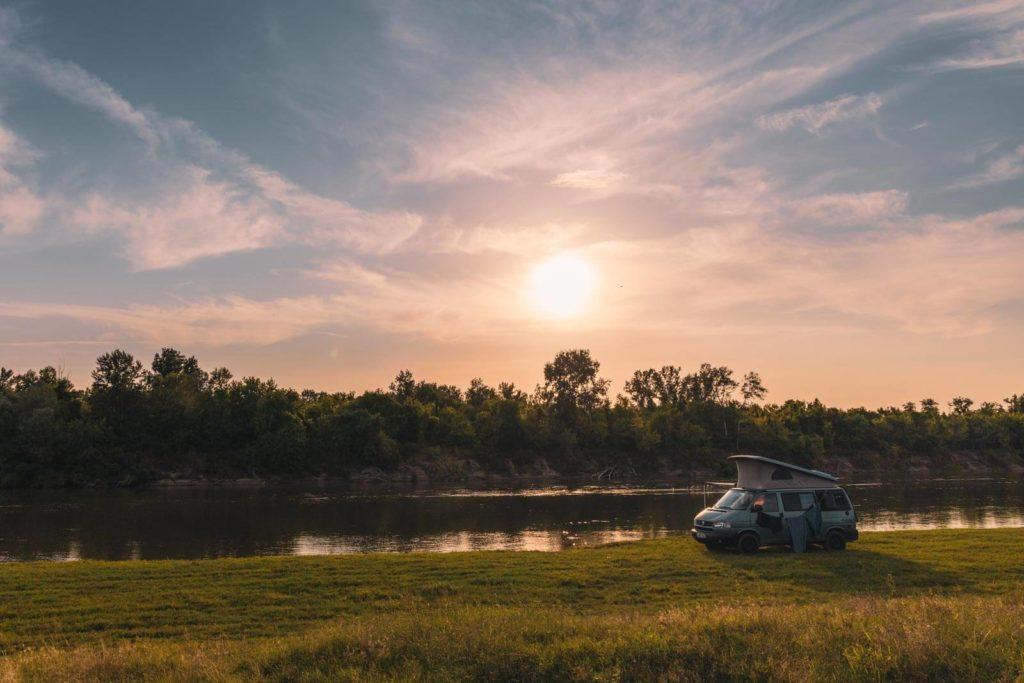 Angekommen in Rumänien - Wildcamping am Mieresch