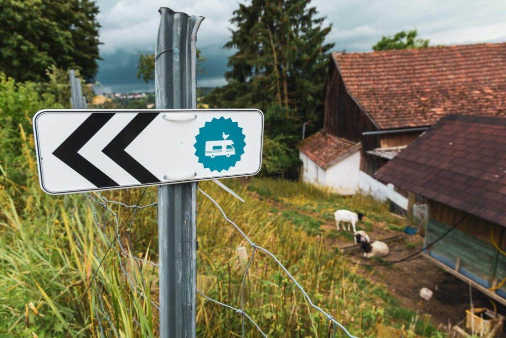 Landvergnügen Stellplatz für Wohnmobile
