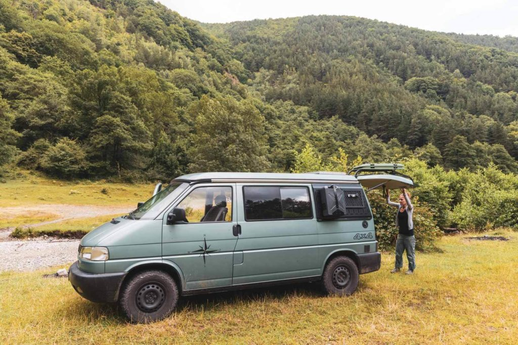 Rumänien Roadtrip mit dem Camper - Wildcamping