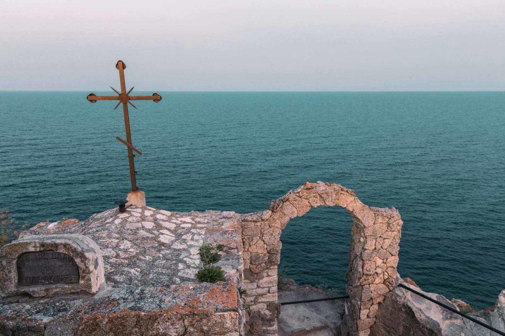 Kap Kaliakra Schwarzes Meer Bulgarien - Mit dem Wohnmobil nach Bulgarien